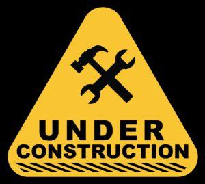 under construction, construction, sign